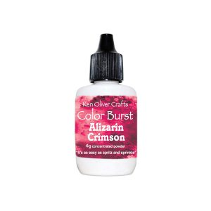 Ken Oliver Color Burst Watercolor Powder - Alizarin Crimson