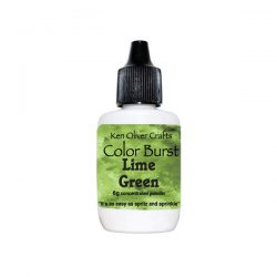 Ken Oliver Color Burst Watercolor Powder – Lime Green