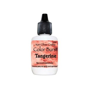 Ken Oliver Color Burst Watercolor Powder - Tangerine
