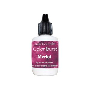 Ken Oliver Color Burst Watercolor Powder - Merlot