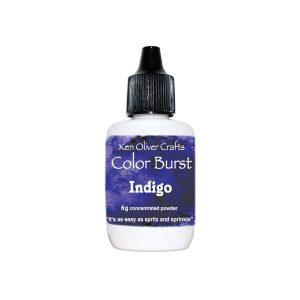 Ken Oliver Color Burst Watercolor Powder – Indigo