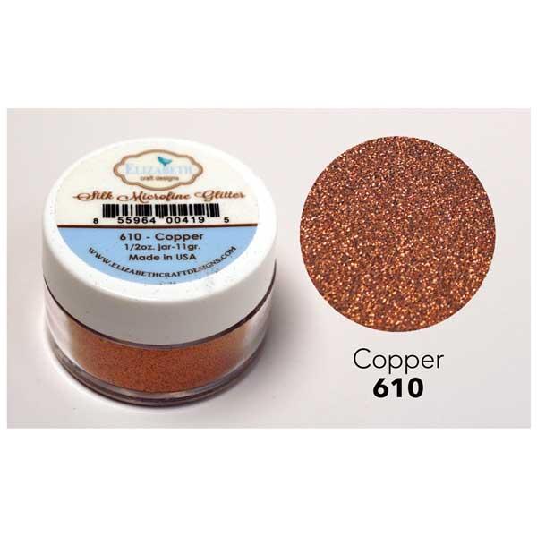 Elizabeth craft designs silk microfine glitter copper for Elizabeth craft microfine glitter
