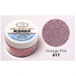 Elizabeth Craft Designs Silk Microfine Glitter – Vintage Pink