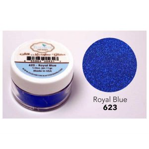 Elizabeth Craft Designs Silk Microfine Glitter – Royal Blue