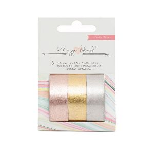 Crate Paper Metallic Tapes