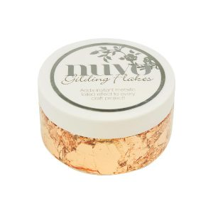 Nuvo Copper Bullion Gilding Flakes class=