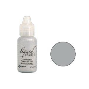 Ranger Silver Pearl Liquid Pearls Dimensional Pearlescent Paint