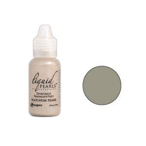 Ranger Platinum Liquid Pearls Dimensional Pearlescent Paint