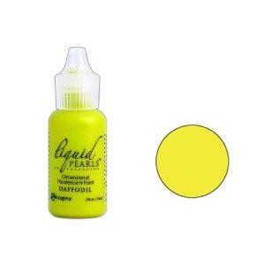 Ranger Daffodil Liquid Pearls Dimensional Pearlescent Paint
