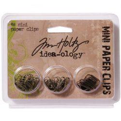 Tim Holtz Idea-Ology Mini Paper Clips (5/8″ – 48/Pkg)