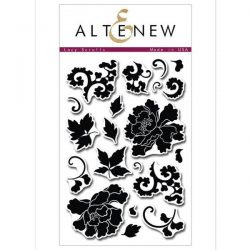 Altenew Lacy Scrolls Stamp Set
