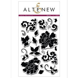 Altenew Lacy Scrolls Stamp Set
