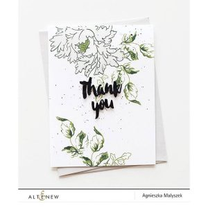 Altenew Majestic Bloom Stamp Set class=