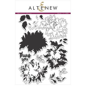 Altenew Majestic Bloom Stamp Set