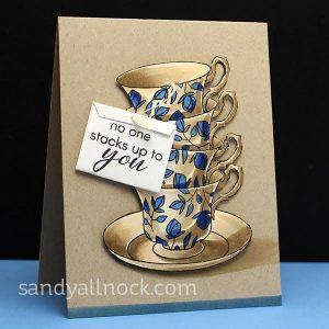 Altenew Vintage Tea Die Set class=