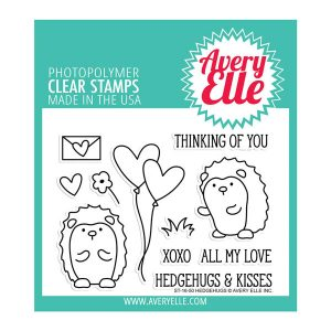 Avery Elle Hedgehugs Stamp Set
