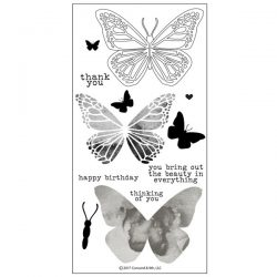 Concord & 9th Butterfly Beauty Stamp Set