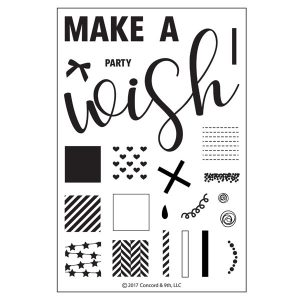 Concord & 9th Party Wishes Stamp Set