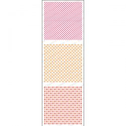Impression Obsession Mini Patterns 3 Stamp Set