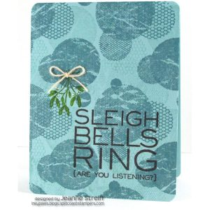 Impression Obsession Cover-a-Card Mesh Circles Background Stamp class=