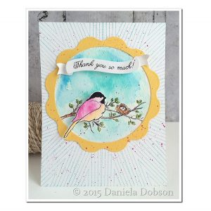 Impression Obsession Starburst Background Cling Stamp class=
