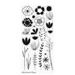 My Favorite Things Sketched Blooms 2 Stamp Set