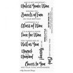 My Favorite Things Uncorked Stamp Set
