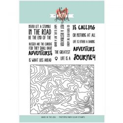 Neat & Tangled Topography Stamp Set