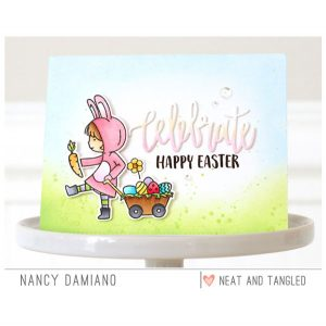 Neat & Tangled Cottontail Cuties Stamp Set class=