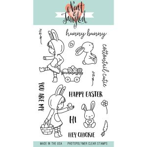 Neat & Tangled Cottontail Cuties Stamp Set