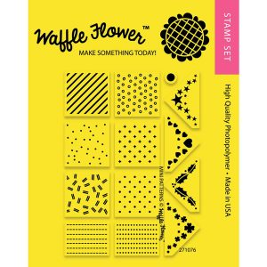 Waffle Flower Mini Patterns Stamp Set