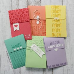Concord & 9th Love Notes Envelope Dies