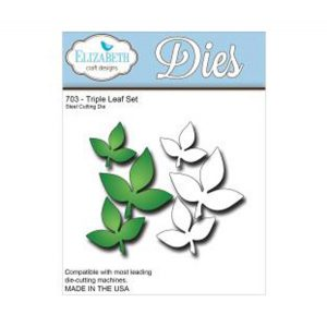 Elizabeth Craft Designs Triple Leaf Die Set