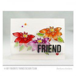 My Favorite Things Fancy Flowers Stamp Set