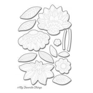 My Favorite Things Die-Namics Fancy Flowers