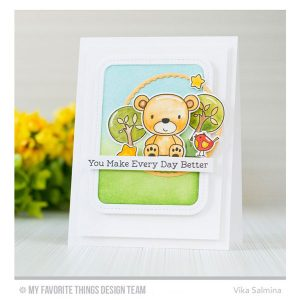 My Favorite Things Die-namics Single Stitch Line Rounded Rectangle Frames class=