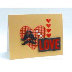 Memory Box Plush Heart Stencil