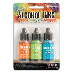 Tim Holtz Alcohol Inks - Spring Break