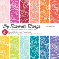 My Favorite Things Roses All Over Paper Pad