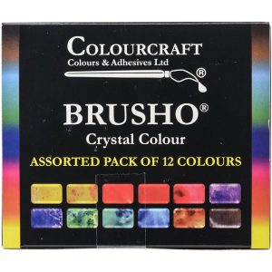Brusho Crystal Colours Set - 12/Pkg