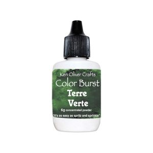 Ken Oliver Color Burst Watercolor Powder - Terre Verte class=