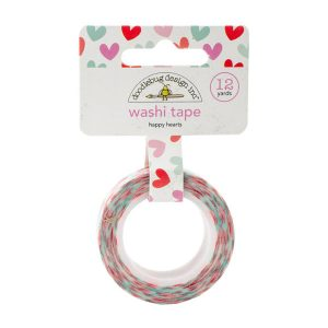 Doodlebug Design Inc. Washi Tape - Happy Hearts