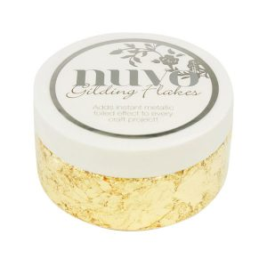 Nuvo Radiant Gold Bullion Gilding Flakes class=
