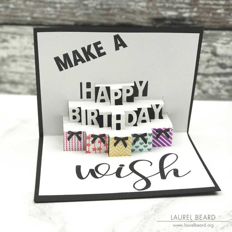 Make A Wish card by Laurel Beard
