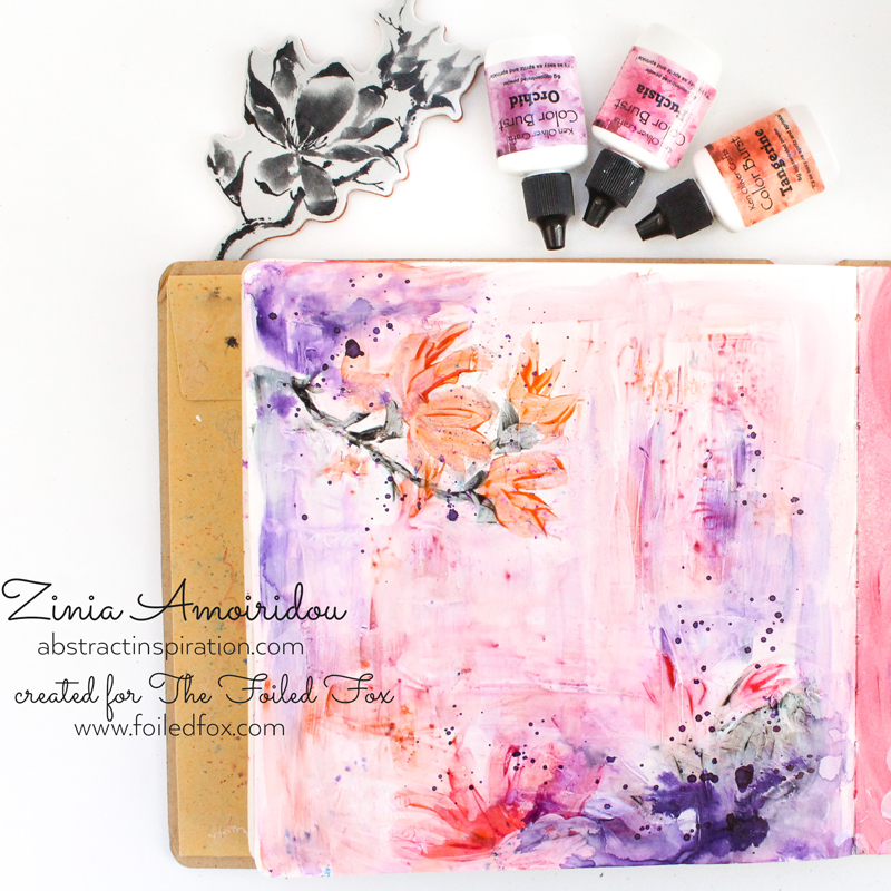 The Unfolding Art Journal Project by Zinia Amoiridou