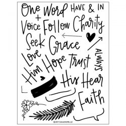 Concord & 9th Faith & Love Stamp Set
