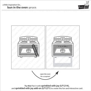 Lawn Fawn Bun In The Oven Stamp Set class=