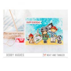Neat & Tangled Yo Ho Ho Stamp Set