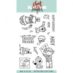 Neat & Tangled Yo Ho Ho Stamp Set