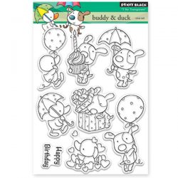Penny Black Buddy & Duck Clear Stamp Set